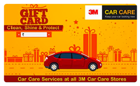3M Car Care giftcard, cashback and offers