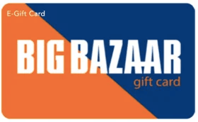 Big Bazaar giftcard, cashback and offers