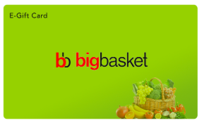 Bigbasket giftcard, cashback and offers