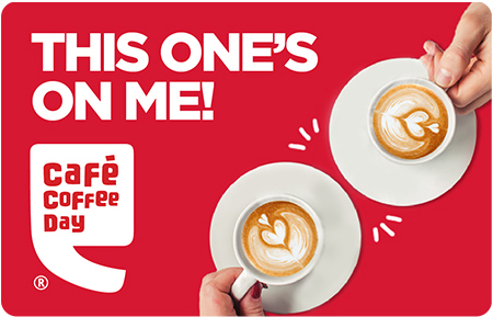 Cafe Coffee Day giftcard, cashback and offers