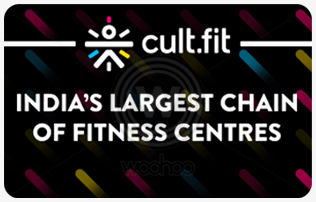 Cult.Fit giftcard, cashback and offers