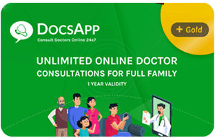 DocsApp - Rs.1999 Plan giftcard, cashback and offers