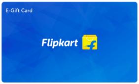 Flipkart giftcard, cashback and offers