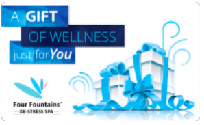 Four Fountains Spa giftcard, cashback and offers