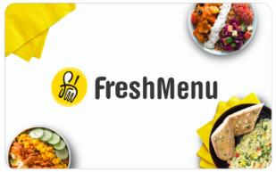 FreshMenu giftcard, cashback and offers