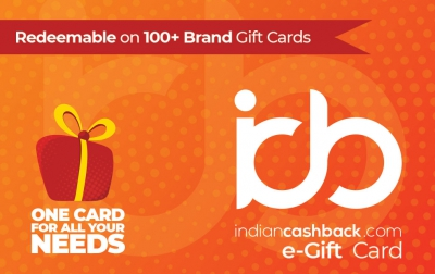 IndianCashback giftcard, cashback and offers