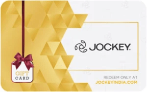 Jockey giftcard, cashback and offers