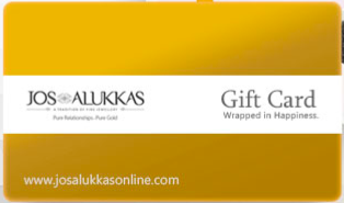Jos Alukkas Jewellery giftcard, cashback and offers
