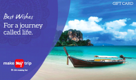 MakeMyTrip giftcard, cashback and offers