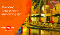 Makemytrip Hotel giftcard, cashback and offers