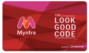 Myntra giftcard, cashback and offers