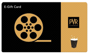 PVR Cinemas giftcard, cashback and offers