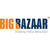 Big Bazaar logo giftcard, cashback and offers