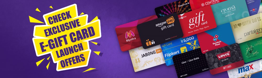 giftcard launch offers cashback deals discounts