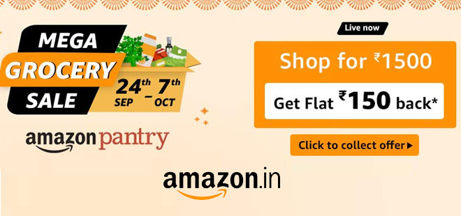 indiancashback-Amazon-Pantry-Offers--Up-To-30percent-OFF-on-Groceries----