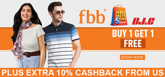 indiancashback-Fbb-Online-Offers--Get-Up-To-50percent-OFF-on-Men-s-Polos---Additional-10percent-cashback-from-us