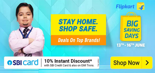 indiancashback-Flipkart-Big-Saving-Days--Get-Up-To-80percent-OFF-on-Electronics---Accessories---Extra-10percent-Instant-Disco