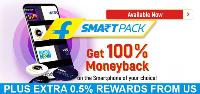 indiancashback-Flipkart-SmartPack--Get-Up-To-100percent-Moneyback-on-the-Smartphone-of-Your-Choice--Starts-From-17th-Jan----U