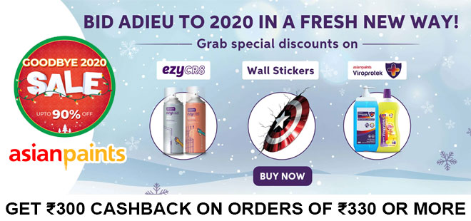 indiancashback-Good-Bye-2020-Sale--Get-Up-to-90percent-off-on-Sanitizers--floor-cleaner--handwash--Wallpapers--etc---Addition