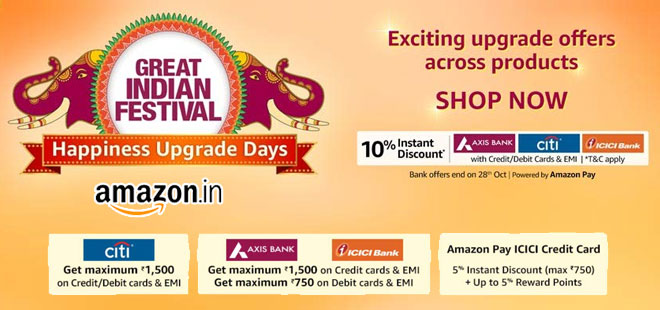 indiancashback-Great-Indian-Festiva-extended-with-New-Bank-Offers--Get-Up-To-85percent-OFF----Extra-10percent-Instant-Discoun