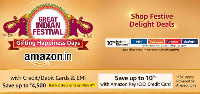 indiancashback-Great-Indian-Festival-extended-with-New-Bank-Offers--Get-Up-To-85percent-OFF----Extra-10percent-Instant-Discou