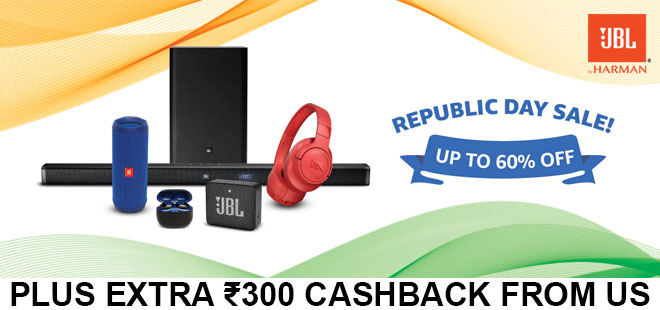 indiancashback-JBL-Republic-Day-Sale-Offer--Up-To-60percent-OFF---Additional-Rs-300-cashback-from-us