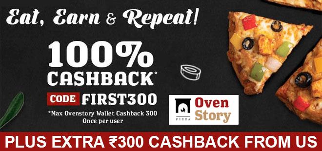 indiancashback-Ovenstory-Offer--Get-100percent-Cashback--Ovenstory-Credits----Additional-Rs-300-cashback-from-us