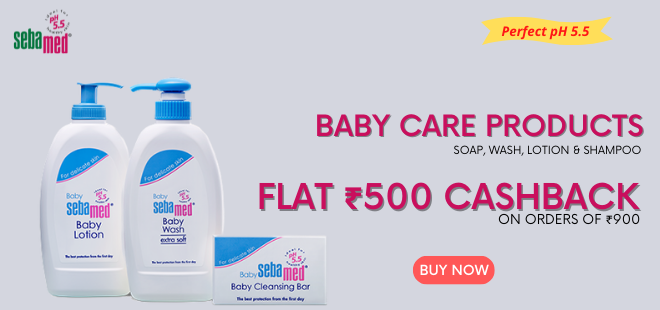 indiancashback-Sebamed-Baby-Care-Products--Price-Starting-From-Rs-161----Up-to-Rs-500-cashback-from-us