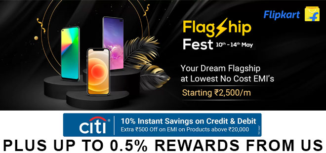 indiancashback-Smart-Phones-Flagship-Fest--Get-Up-To-45percent-OFF---Extra-10percent-Instant-Discount-with-Citi-Bank-Cards---