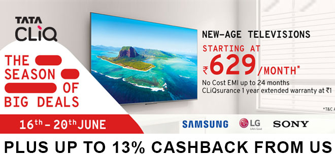 indiancashback-The-Season-of-Big-Deals-Sale--Up-To-85percent-OFF---Extra-10percent-Instant-Discount-With-HDFC-Bank-Cards---Up