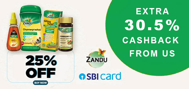 indiancashback-ZanduCare-Immunity-Boosters--Get-Up-To-50percent-OFF---Extra-25percent-OFF-with-SBI-Bank-Cards---Additional-30